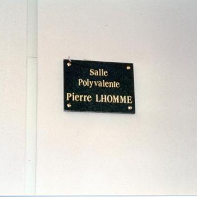 Inauguration de la plaque le 11-11-1994