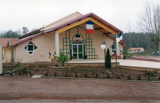 inauguration de la salle des fetes janvier 1992