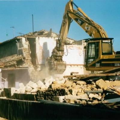 Destruction des maisons