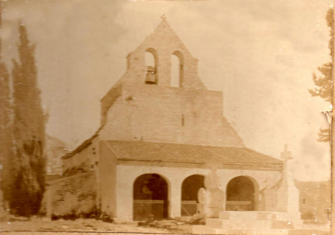 Eglise de baron vers 1900