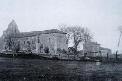 L'Eglise St Christophe de Baron une ancienne maison