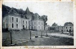 Une partie du Château