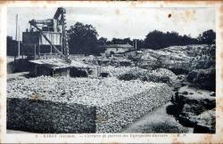 Carrière de pierres de l'entreprise Garzaro